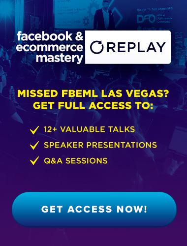 Facebook Ads & Ecommerce Training