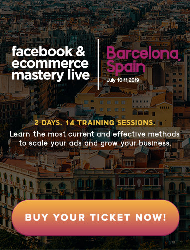 Facebook Ads & Ecommerce Training